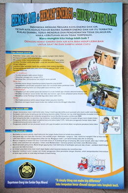 Hemat Air Hemat Energi Hidup Lebih Baik Nawasis National Water And Sanitation Information Services